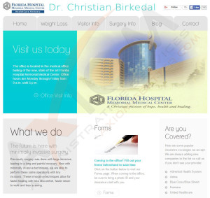 Surgeon Web Design & Development
