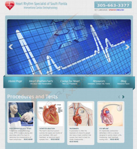 Cardiologist Web Design & Development