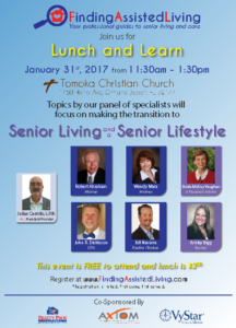 Finding Assisted Living Lunch and Learn